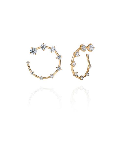 Fernando Jorge Circle Small Diamond Earrings SOLD!