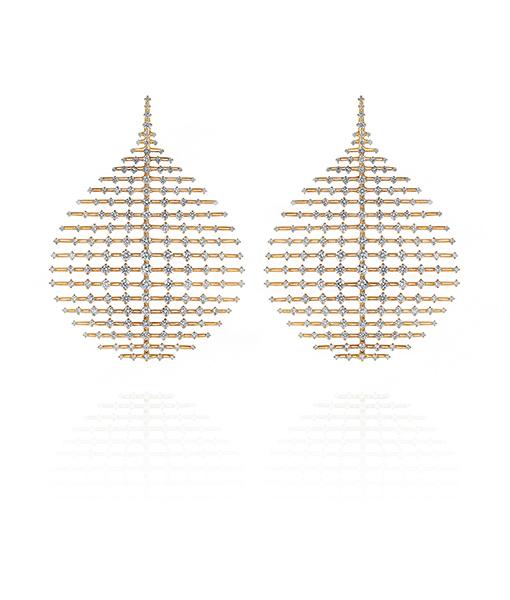 Fernando Jorge Disco Diamond Earrings