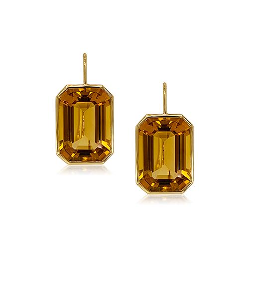 Goshwara Citrine Earrings