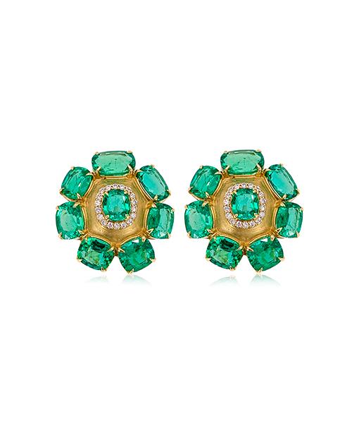 Goshwara Emerald Earrings #