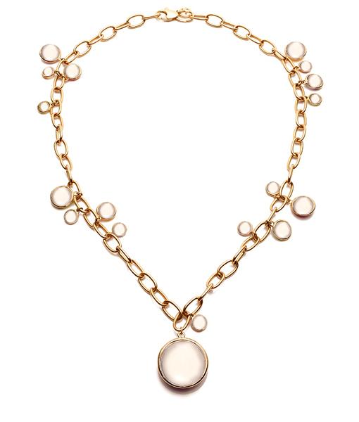 Goshwara Moon Quartz Necklace