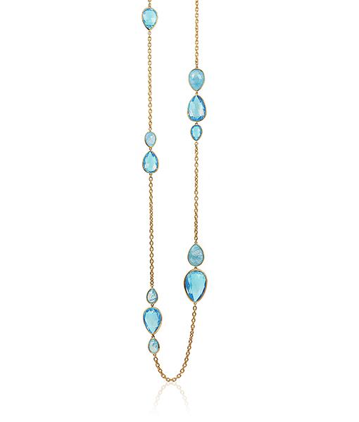 Goshwara Blue Topaz Necklace