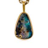 Jorge Adeler Boulder Opal Pendant