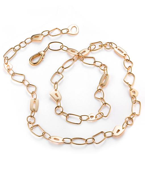 Mattioli Puzzle Necklace All Gold