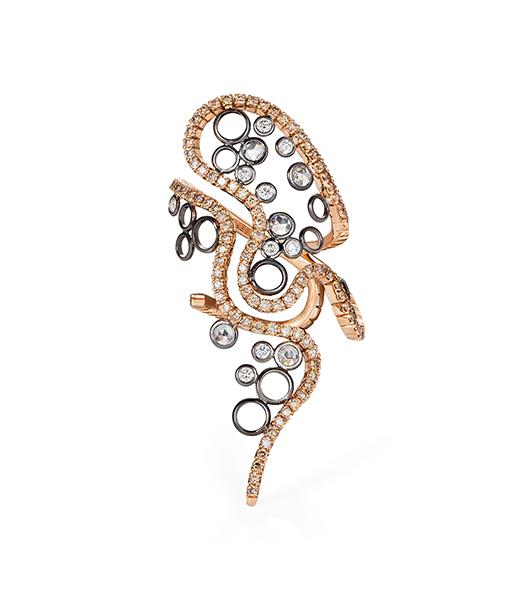 Mike Joseph Waves Diamond Ring