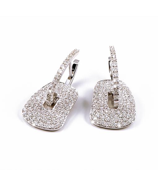 Mattiolli Diamond Puzzle Earrings