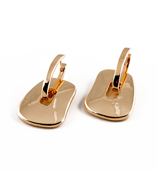 Mattiolli Puzzle Earrings Gold Large Size