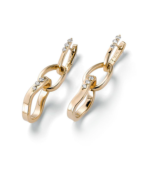 Mattioli Aspis Diamond Earrings