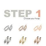Mattioli Gold Puzzle Earrings - Small