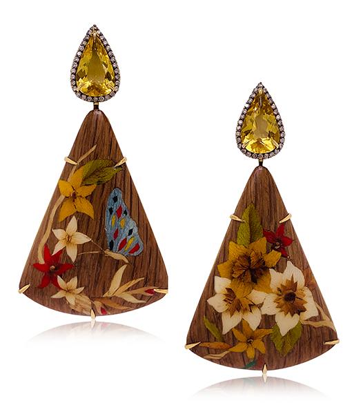 Silvia Furmanovich Earrings SOLD!