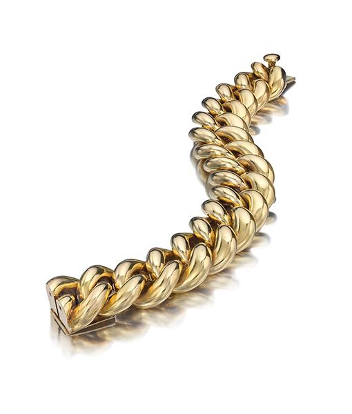 Cartier Twisted Link Bracelet