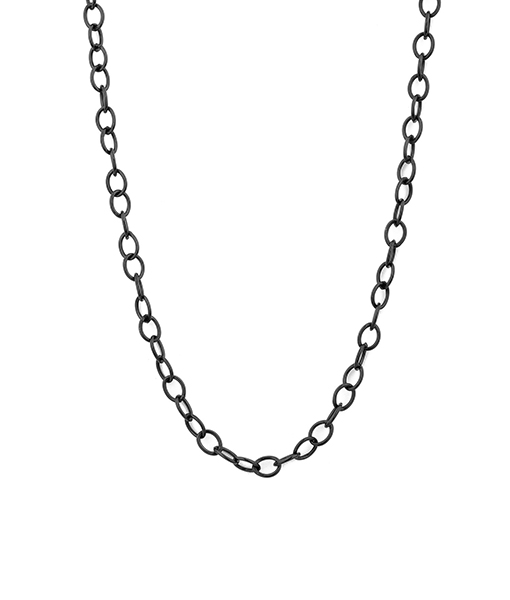 Syna Grey Sterling Silver Chain
