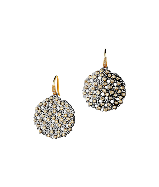 Syna Silver Baubles Earrings