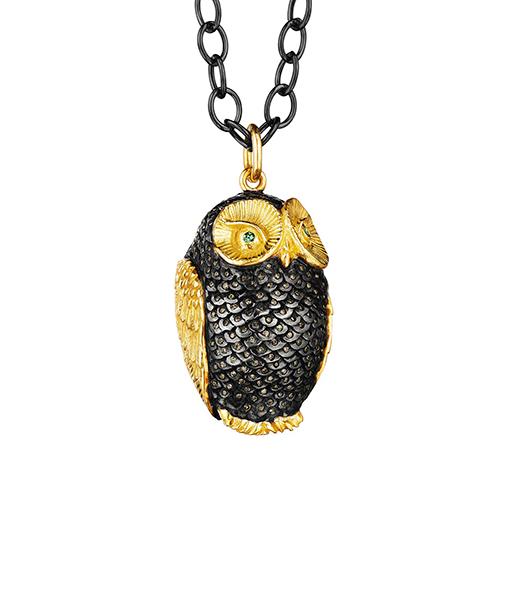 Syna Owl Pendant