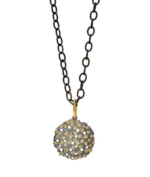 Syna Bubbles Pendant Champagne Diamonds