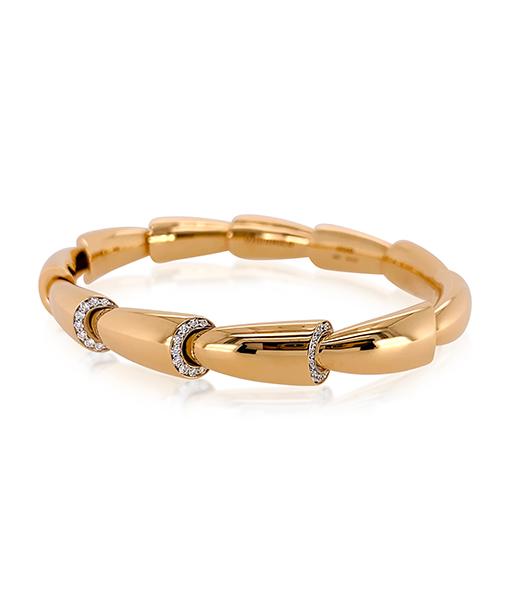 Vhernier Calla Media Diamond Dials Bracelet