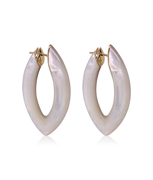 Vhernier Eclipse Mother of Pearl Earrings