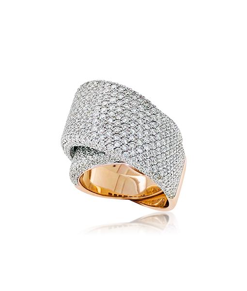 Vhernier Tourbillon Diamond Ring
