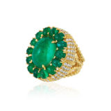 Andreoli Certified Emerald Ring