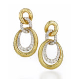 David Webb 57th Street Madsion Earrings