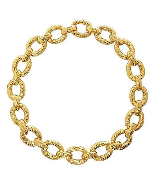 David Webb 57th Street Chain Necklace