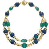 David Webb Colors Bead Necklace
