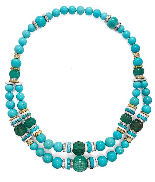 David Webb Colors Necklace