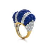 David Webb Colors Swizzle Ring