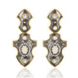 Elie Top Balson Opal Earrings