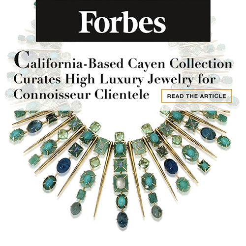 FORBES Magazine Article about Cayen Collection