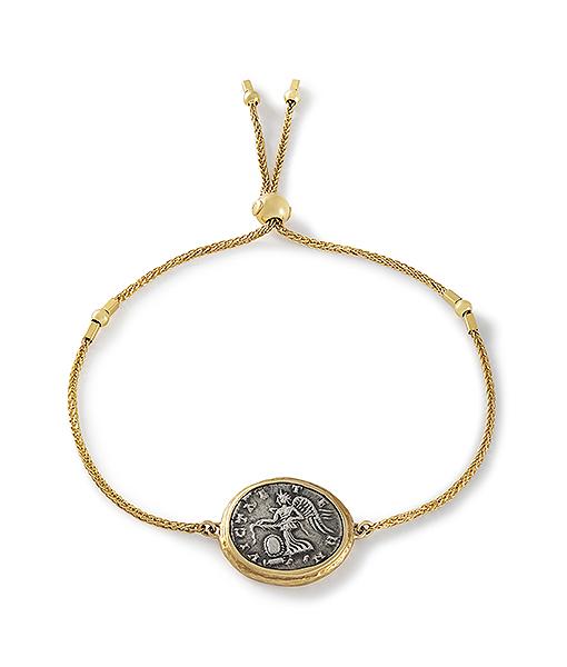 Jorge Adeler Victory Coin Bracelet