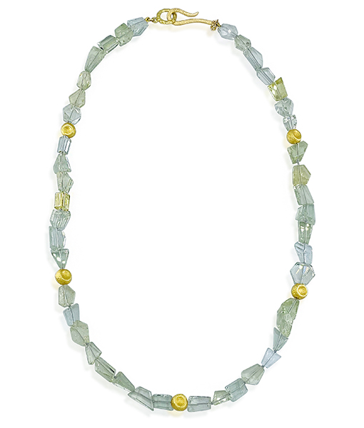 Jorge Adeler Prasolite Bead Necklace