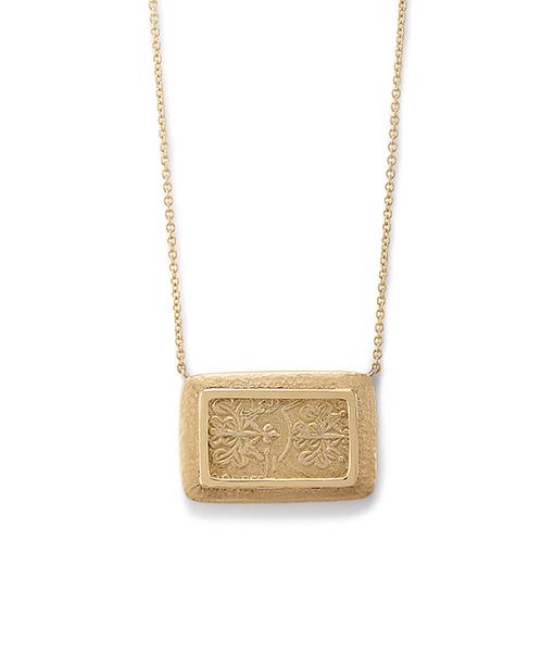Jorge Adeler Nibu Gold Coin Necklace