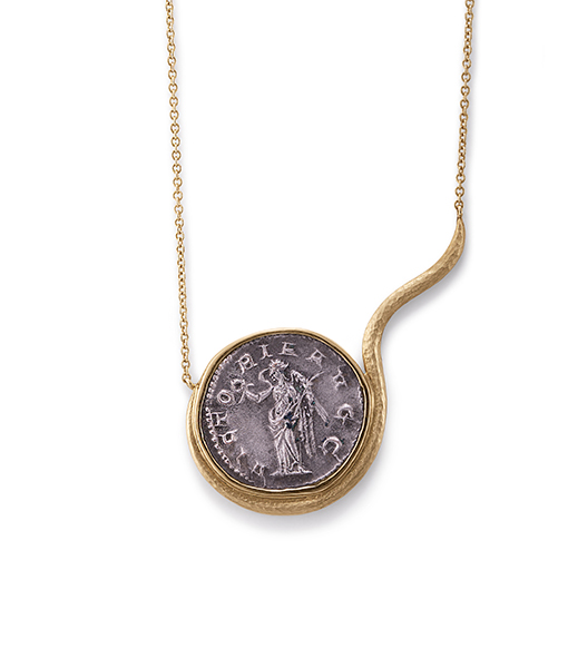 Jorge Adeler Victory Coin Necklace