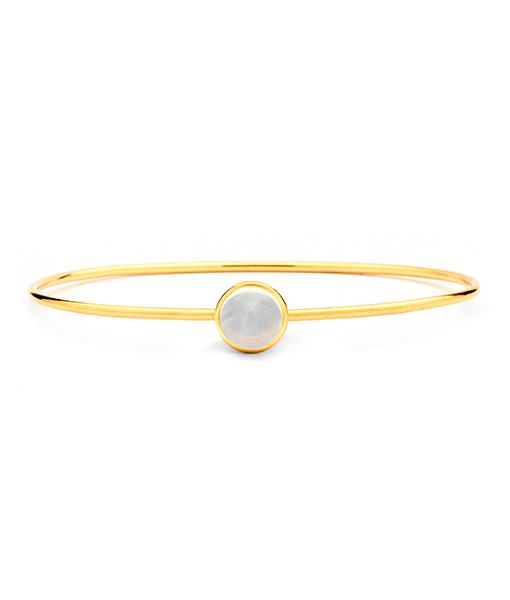 Syna Stacking Baubles Moon Quartz Bracelet