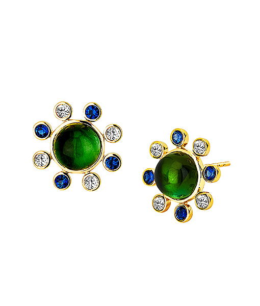 Syna Bauble Stud Earrings
