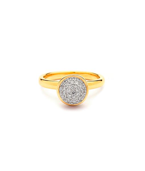 Syna Medium Stackin Diamond Bauble Ring