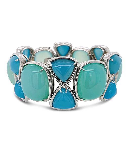 Tony Duquette Chalcedony Bracelet