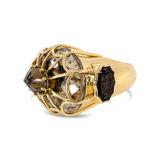 Tony Duquette Smoky Quartz Ring