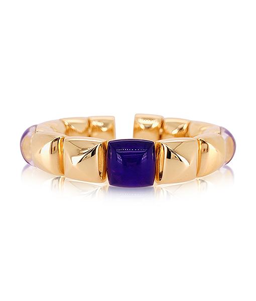 Vhernier PanDiZucchero Rock Crystal Sugalite Bracelet