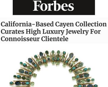 Forbes MAgazine article about Soraya Cayen