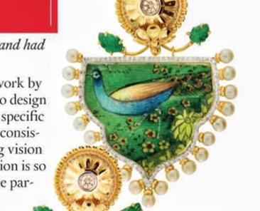 Silvia Furmanovich wins Town & Country Jewelry Award