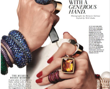 Town & Country features Etho Maria, Tony Duquette and Vhernier