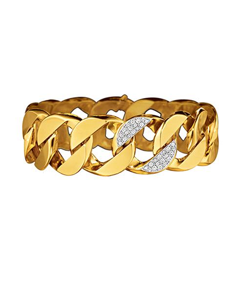 Verdura Curb-Link Diamond Bracelet