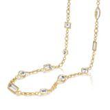 Verdura White Confetti Necklace