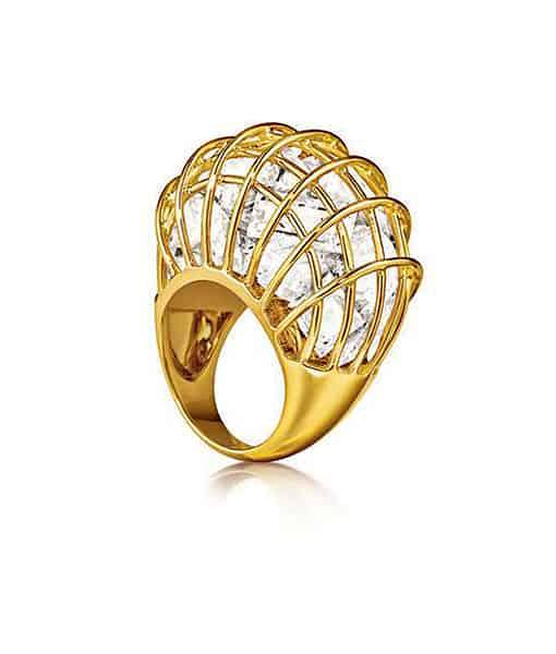 Verdura Caged Ring