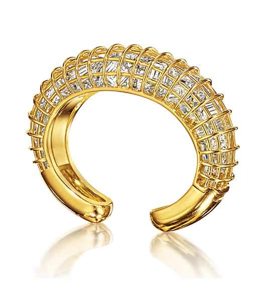 Verdura Caged Cuff Bracelet