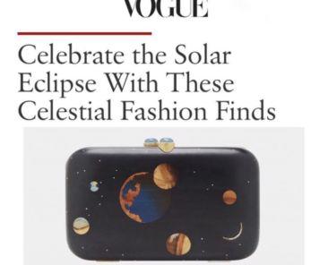 Vogue Magazine Features Silvia Furmanovich bag